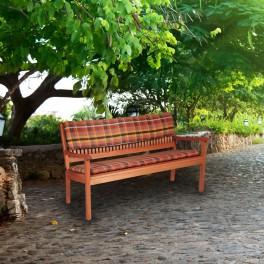 Poduszka-oparcie na ławkę drewnianą 150x45